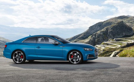 2019 Audi S5 Coupé TDI Side Wallpapers 450x275 (12)