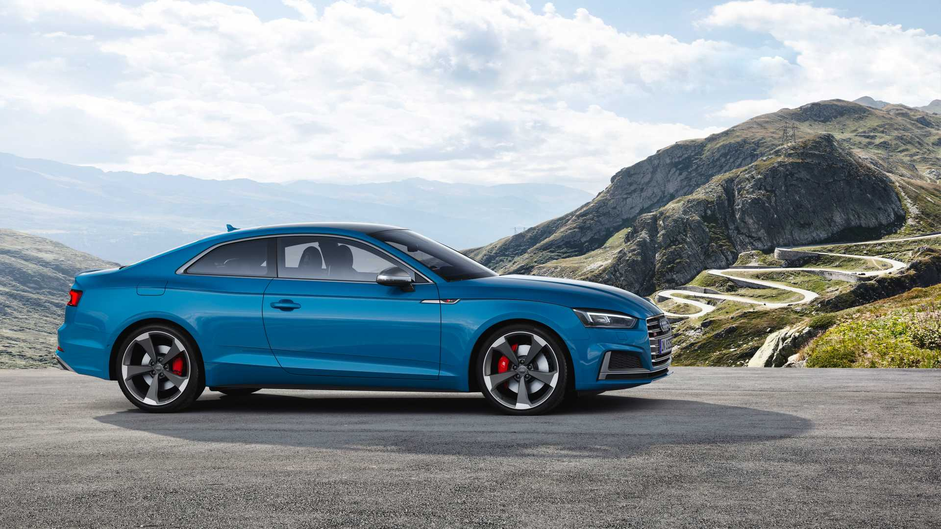 2019 Audi S5 Coupé TDI Side Wallpapers #12 of 17