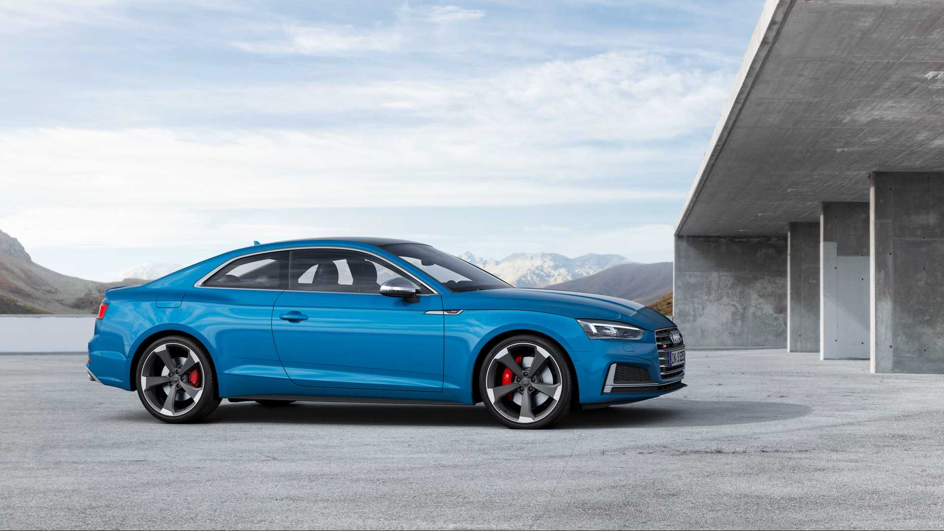 2019 Audi S5 Coupé TDI Side Wallpapers #13 of 17