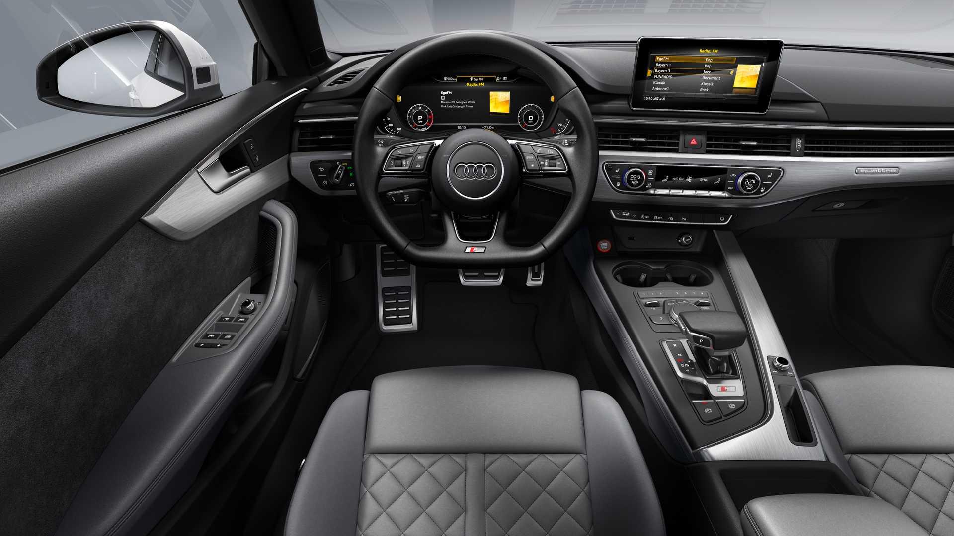 2019 Audi S5 Sportback TDI Interior Cockpit Wallpaper (15)