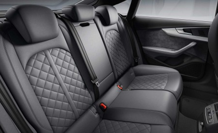 2019 Audi S5 Sportback TDI Interior Rear Seats Wallpapers 450x275 (14)