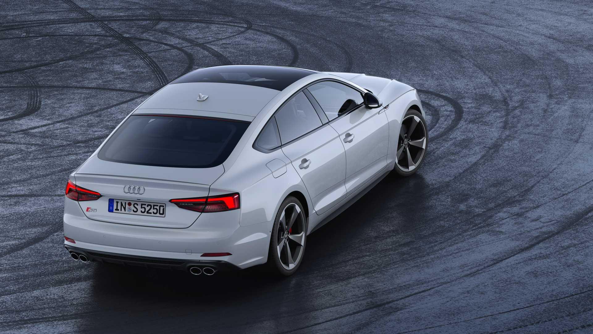 2019 Audi S5 Sportback TDI Rear Wallpaper (13)