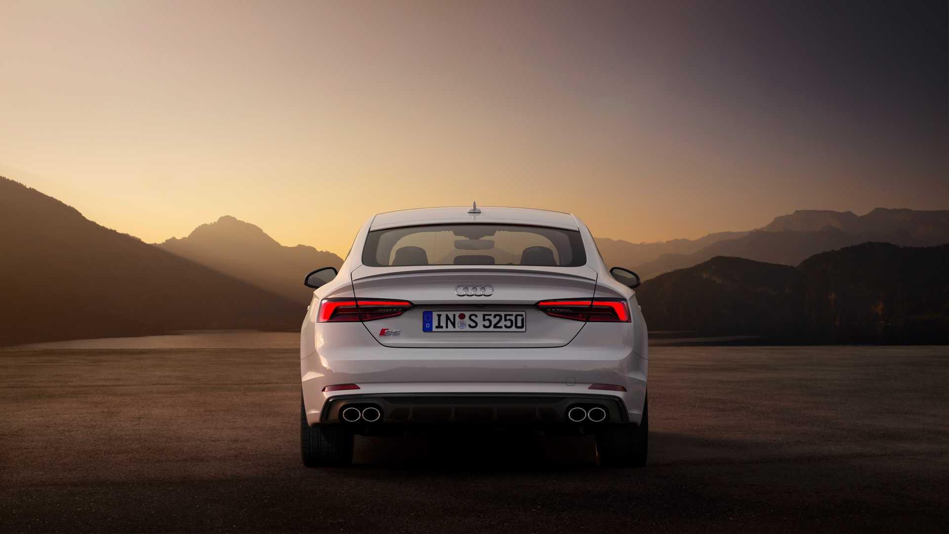 2019 Audi S5 Sportback TDI Rear Wallpaper (10)