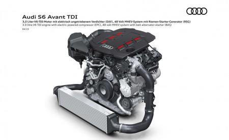 2019 Audi S6 Avant TDI 3.0 litre V6 TDI engine Wallpaper 450x275 (25)