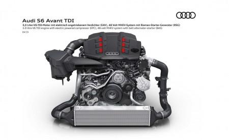 2019 Audi S6 Avant TDI 3.0 litre V6 TDI engine with electric powered compressor (EPC) Wallpaper 450x275 (24)