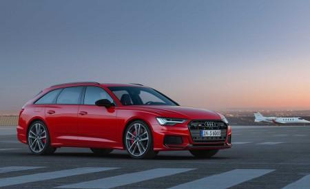 2019 Audi S6 Avant TDI (Color: Tango Red) Front Three-Quarter Wallpaper 450x275 (8)