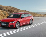 2019 Audi S6 Avant TDI (Color: Tango Red) Front Three-Quarter Wallpapers 150x120 (2)