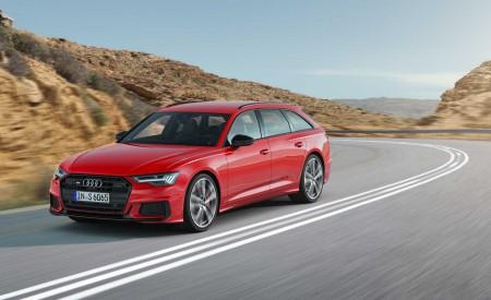 2019 Audi S6 Avant TDI (Color: Tango Red) Front Three-Quarter Wallpaper 450x275 (2)
