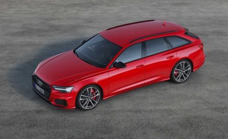 2019 Audi S6 Avant TDI (Color: Tango Red) Front Three-Quarter Wallpaper 450x275 (9)