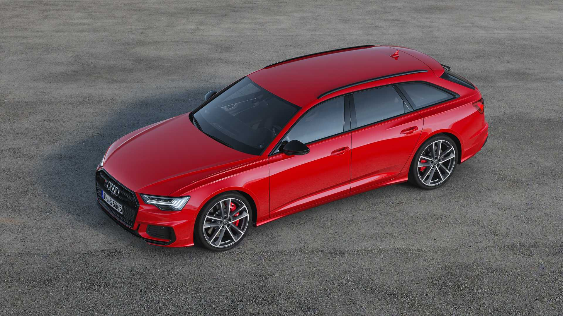 2019 Audi S6 Avant TDI (Color: Tango Red) Front Three-Quarter Wallpapers (9)