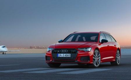 2019 Audi S6 Avant TDI (Color: Tango Red) Front Three-Quarter Wallpaper 450x275 (10)