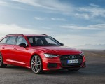 2019 Audi S6 Avant TDI (Color: Tango Red) Front Wallpapers 150x120 (11)