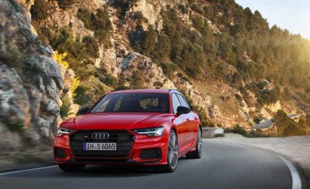 2019 Audi S6 Avant TDI (Color: Tango Red) Front Wallpaper 450x275 (3)