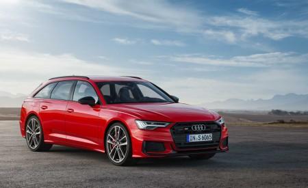 2019 Audi S6 Avant TDI (Color: Tango Red) Front Wallpaper 450x275 (11)