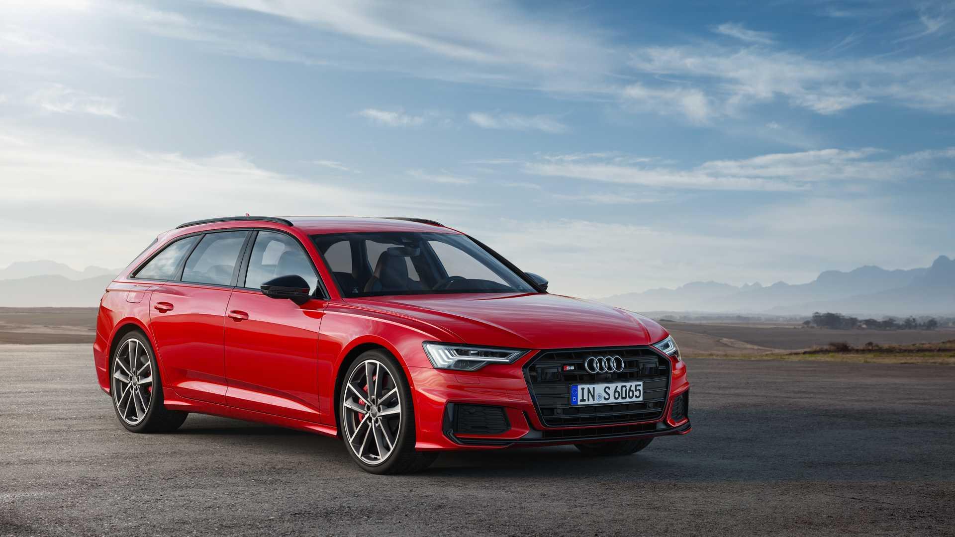 2019 Audi S6 Avant TDI (Color: Tango Red) Front Wallpaper (11)
