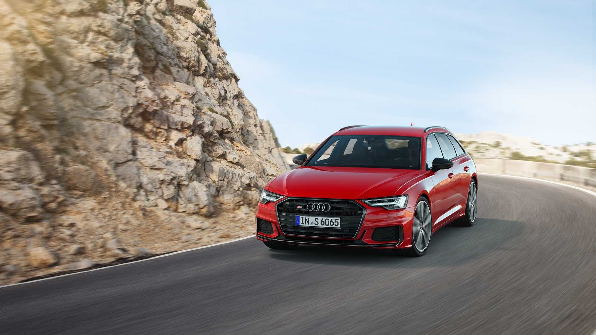 2019 Audi S6 Avant TDI (Color: Tango Red) Front Wallpapers (4)