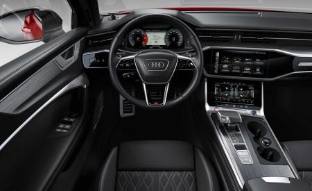 2019 Audi S6 Avant TDI (Color: Tango Red) Interior Cockpit Wallpaper 450x275 (19)