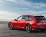 2019 Audi S6 Avant TDI (Color: Tango Red) Rear Three-Quarter Wallpapers 150x120 (14)