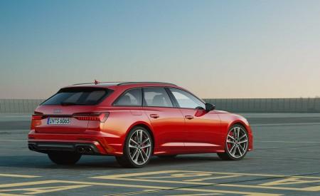 2019 Audi S6 Avant TDI (Color: Tango Red) Rear Three-Quarter Wallpaper 450x275 (12)