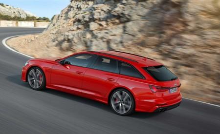 2019 Audi S6 Avant TDI (Color: Tango Red) Rear Three-Quarter Wallpaper 450x275 (5)
