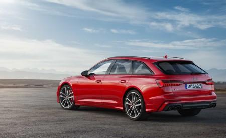 2019 Audi S6 Avant TDI (Color: Tango Red) Rear Three-Quarter Wallpaper 450x275 (14)