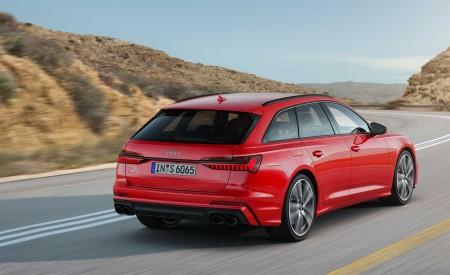2019 Audi S6 Avant TDI (Color: Tango Red) Rear Three-Quarter Wallpaper 450x275 (6)