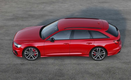2019 Audi S6 Avant TDI (Color: Tango Red) Side Wallpaper 450x275 (17)