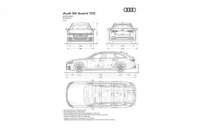 2019 Audi S6 Avant TDI Dimensions Wallpaper 450x275 (26)