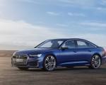 2019 Audi S6 Sedan TDI (Color: Navarra Blue) Front Three-Quarter Wallpaper 150x120 (10)