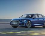 2019 Audi S6 Sedan TDI (Color: Navarra Blue) Front Three-Quarter Wallpaper 150x120 (8)