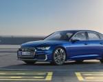 2019 Audi S6 Sedan TDI (Color: Navarra Blue) Front Three-Quarter Wallpaper 150x120 (9)