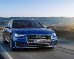 2019 Audi S6 Sedan TDI (Color: Navarra Blue) Front Three-Quarter Wallpaper 150x120 (3)