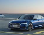 2019 Audi S6 Sedan TDI (Color: Navarra Blue) Front Wallpaper 150x120 (11)