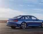 2019 Audi S6 Sedan TDI (Color: Navarra Blue) Rear Three-Quarter Wallpaper 150x120 (13)