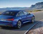2019 Audi S6 Sedan TDI (Color: Navarra Blue) Rear Three-Quarter Wallpaper 150x120 (6)