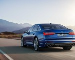 2019 Audi S6 Sedan TDI (Color: Navarra Blue) Rear Wallpaper 150x120 (7)