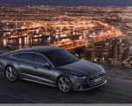 2019 Audi S7 Sportback TDI (Color: Daytona Grey) Front Three-Quarter Wallpapers 150x120 (13)