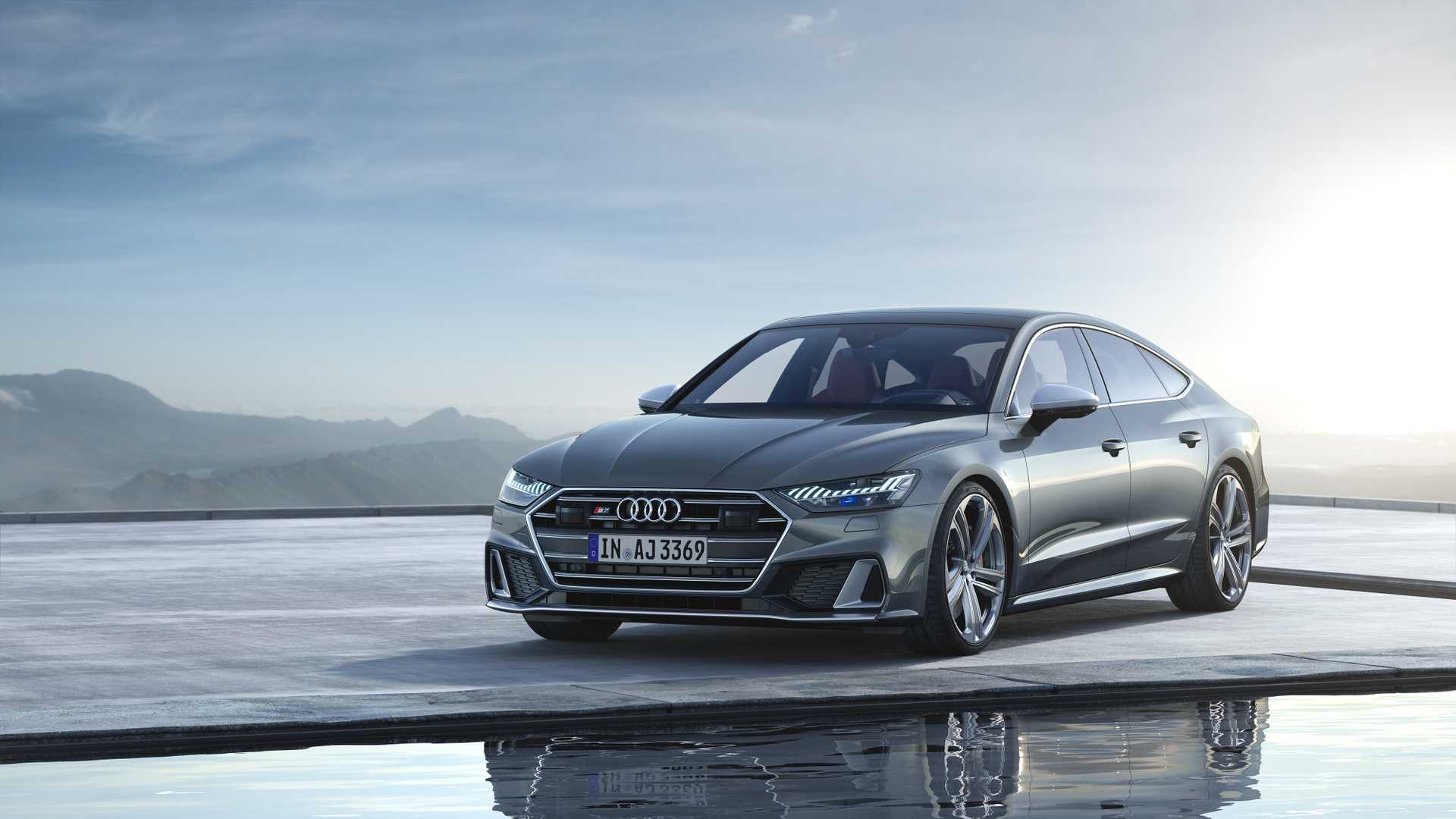 2019 Audi S7 Sportback TDI (Color: Daytona Grey) Front Three-Quarter Wallpapers (5)