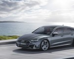 2019 Audi S7 Sportback TDI (Color: Daytona Grey) Front Three-Quarter Wallpapers 150x120 (4)