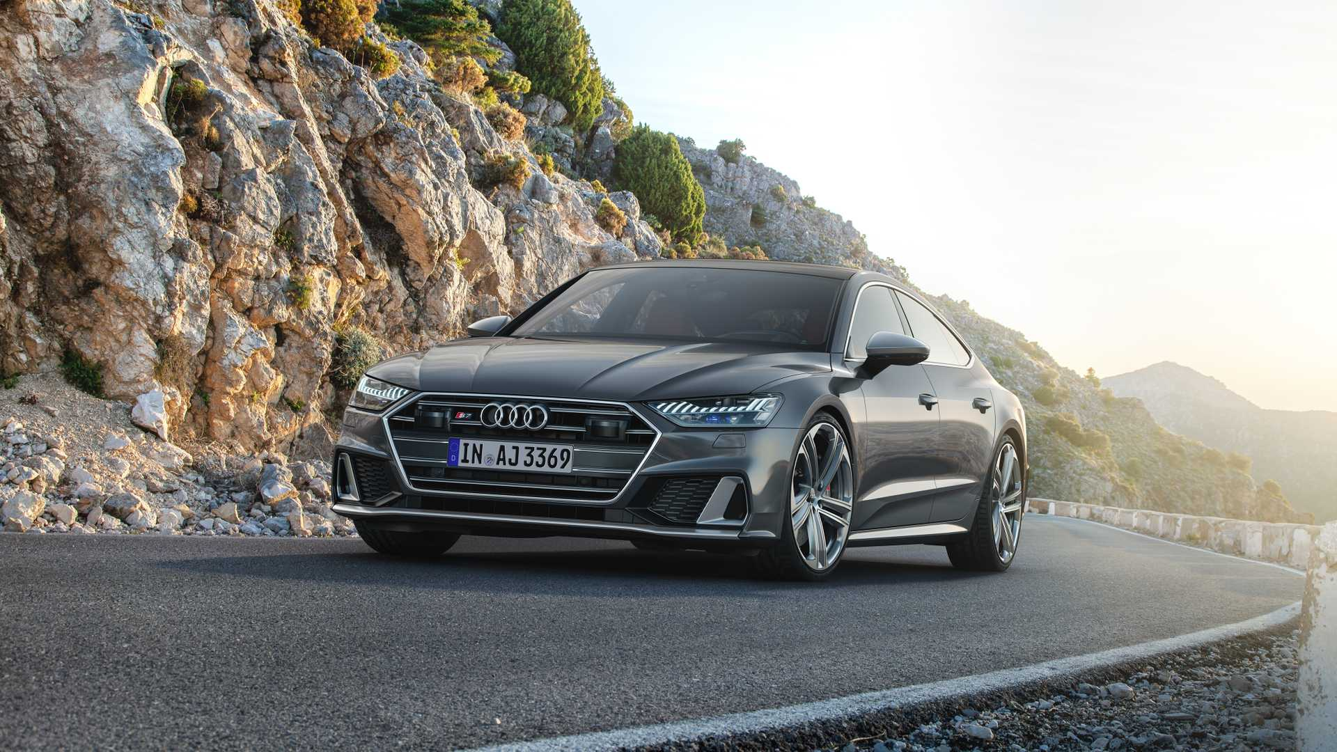2019 Audi S7 Sportback TDI (Color: Daytona Grey) Front Wallpapers (7)