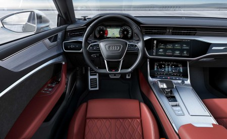 2019 Audi S7 Sportback TDI (Color: Daytona Grey) Interior Cockpit Wallpaper 450x275 (16)