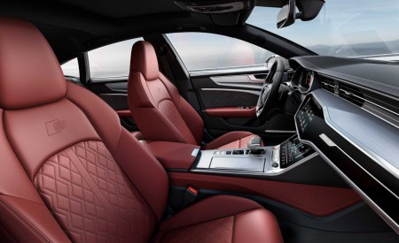 2019 Audi S7 Sportback TDI (Color: Daytona Grey) Interior Front Seats Wallpaper 450x275 (15)
