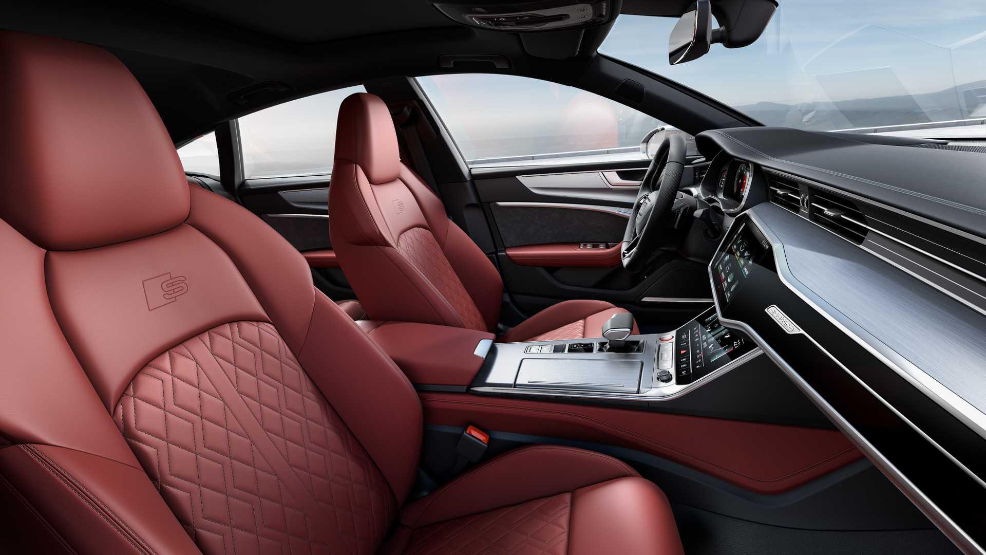 2019 Audi S7 Sportback TDI (Color: Daytona Grey) Interior Front Seats Wallpapers (15)