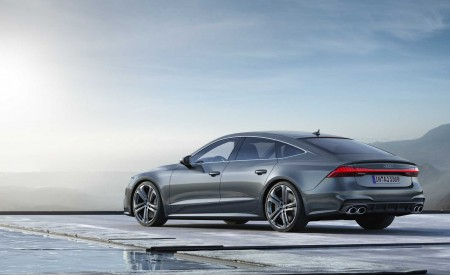 2019 Audi S7 Sportback TDI (Color: Daytona Grey) Rear Three-Quarter Wallpaper 450x275 (8)