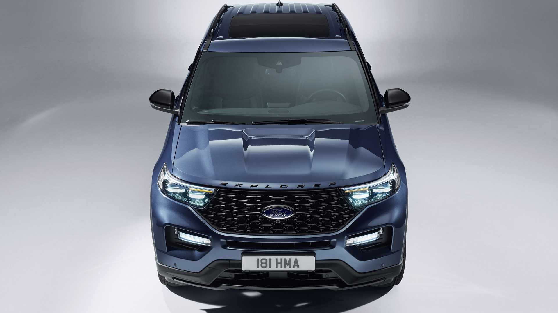 2019 Ford Explorer Plug-In Hybrid (Euro-Spec) Front Wallpapers (2)