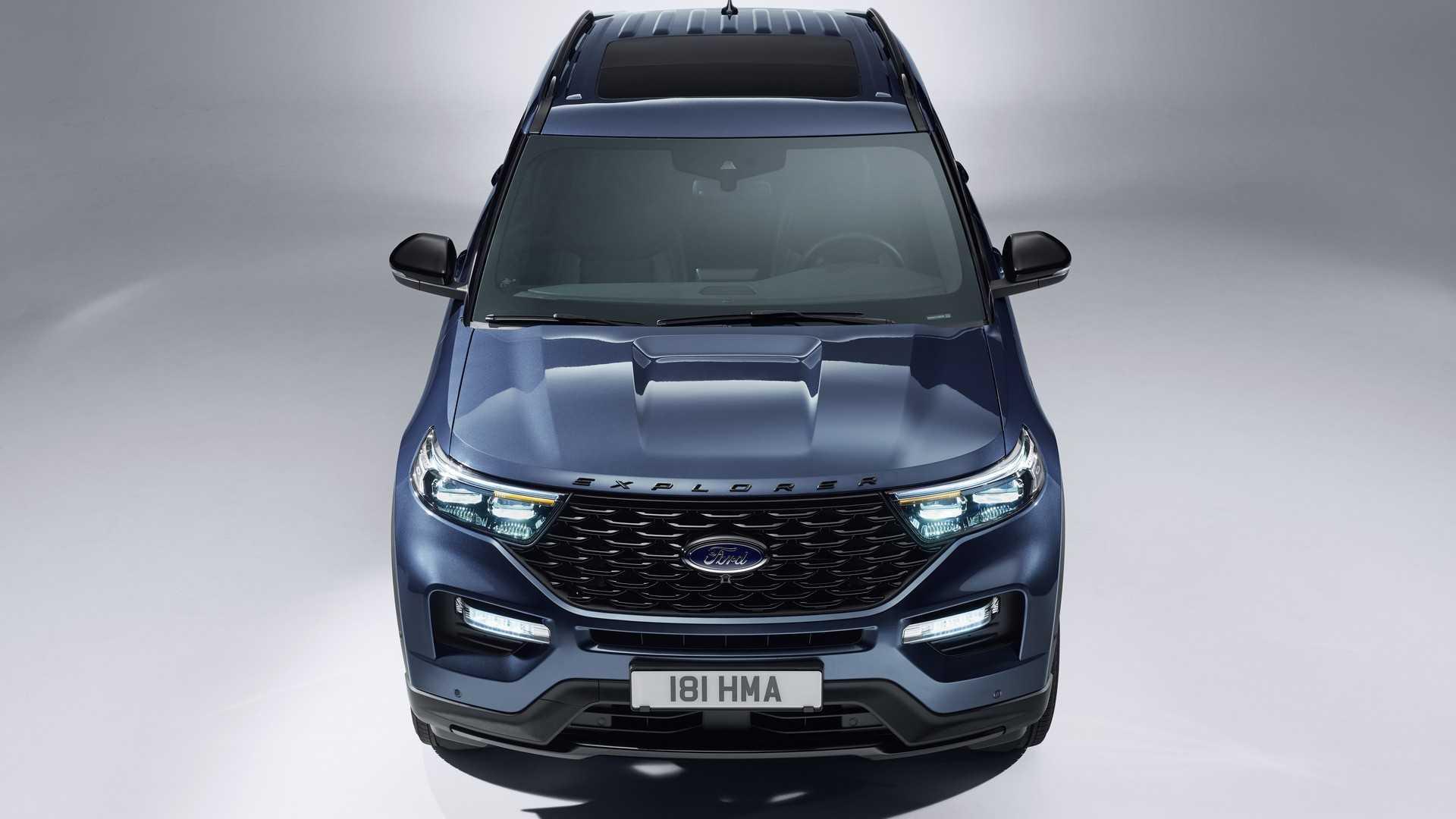 2019 Ford Explorer Plug-In Hybrid (Euro-Spec) Front Wallpaper (2)