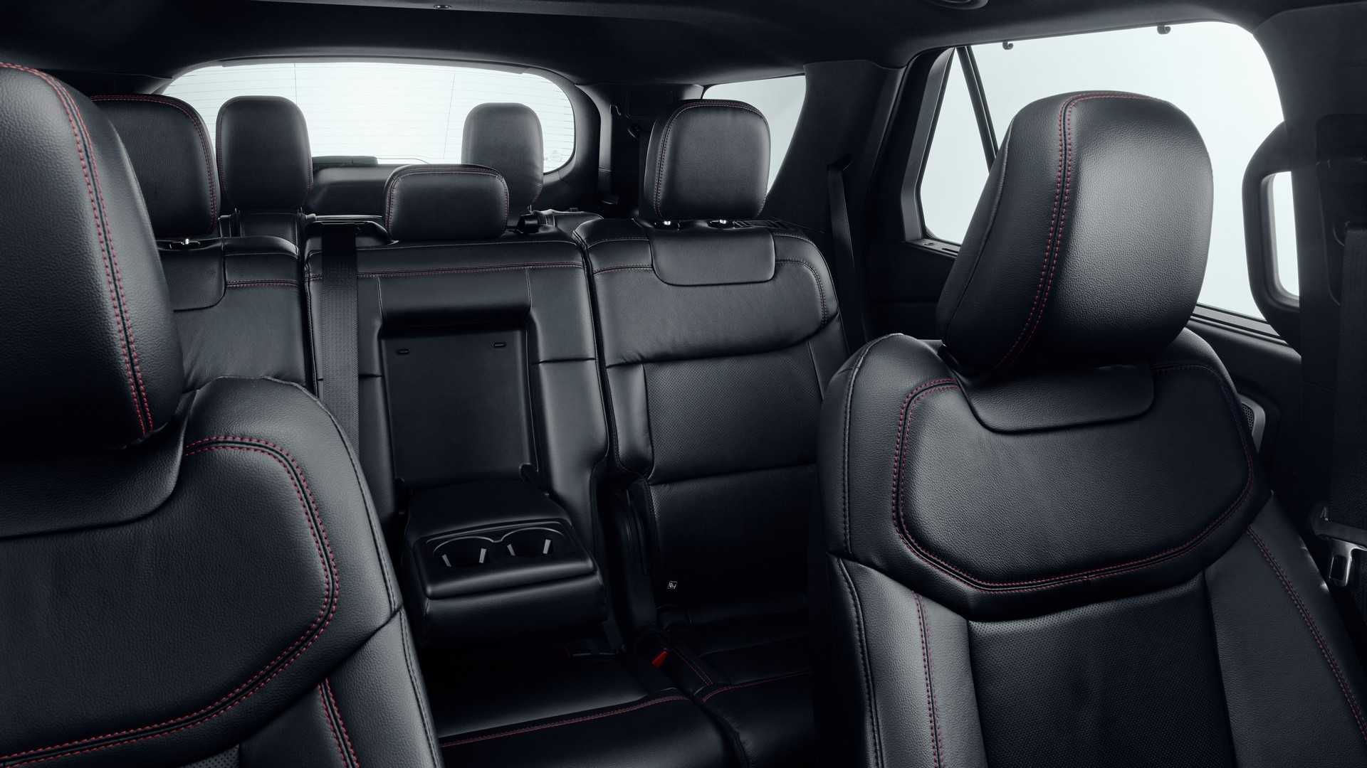 2019 Ford Explorer Plug-In Hybrid (Euro-Spec) Interior Front Seats Wallpaper (10)