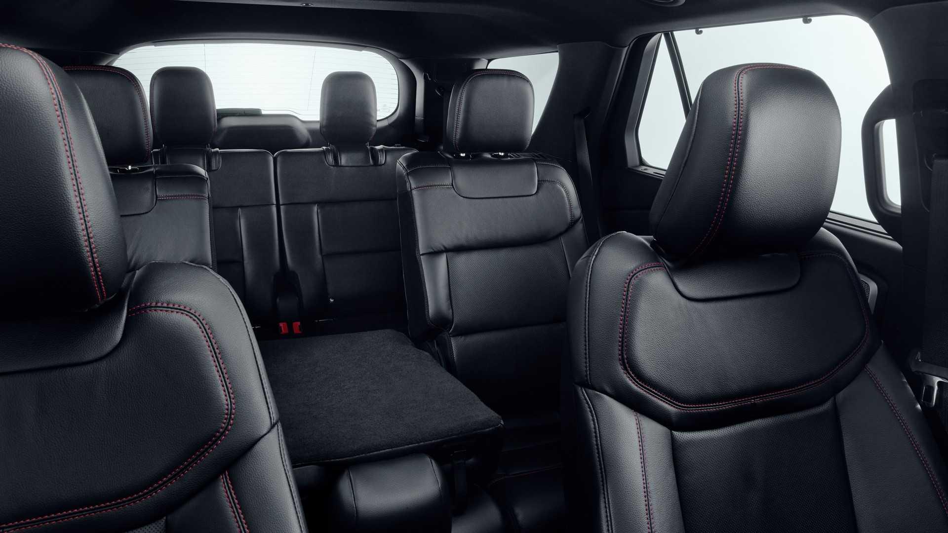 2019 Ford Explorer Plug-In Hybrid (Euro-Spec) Interior Seats Wallpaper (11)