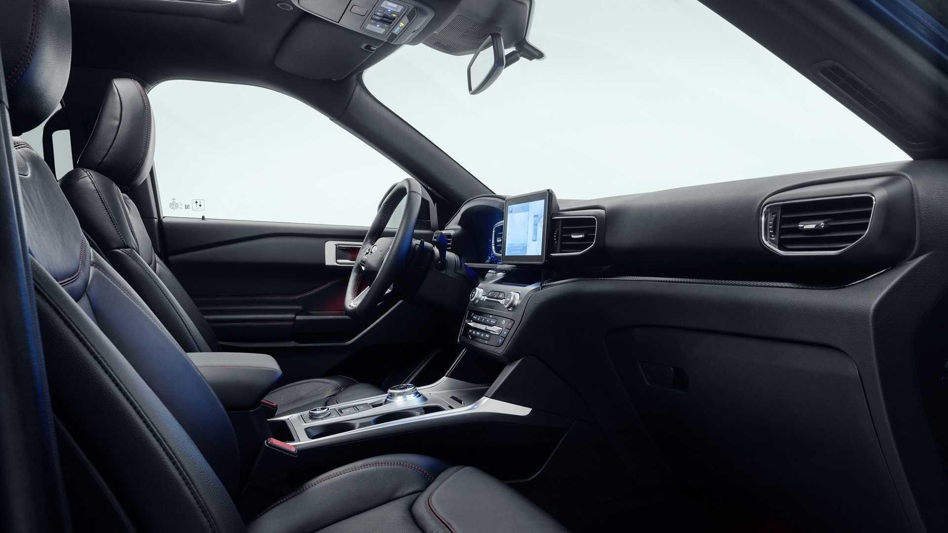 2019 Ford Explorer Plug-In Hybrid (Euro-Spec) Interior Wallpapers (7)