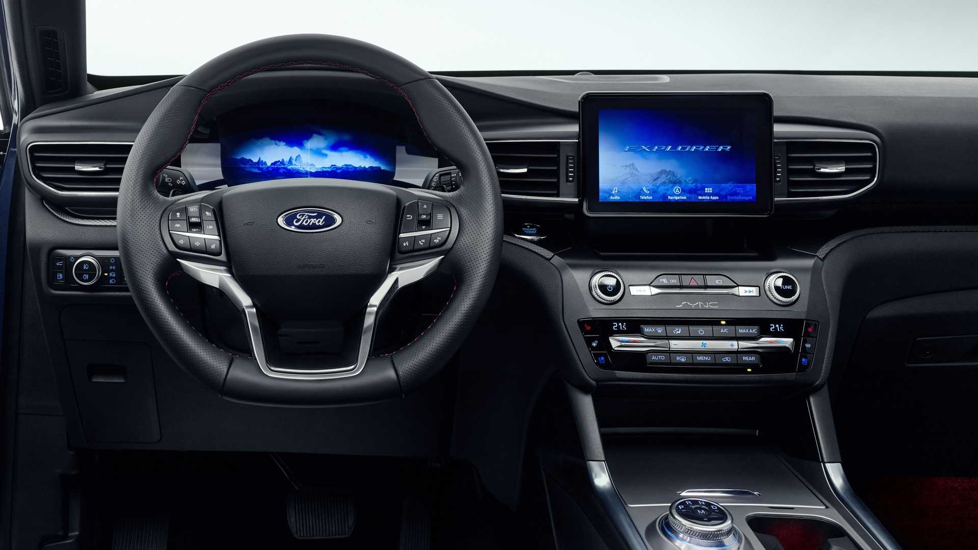 2019 Ford Explorer Plug-In Hybrid (Euro-Spec) Interior Wallpapers (8)